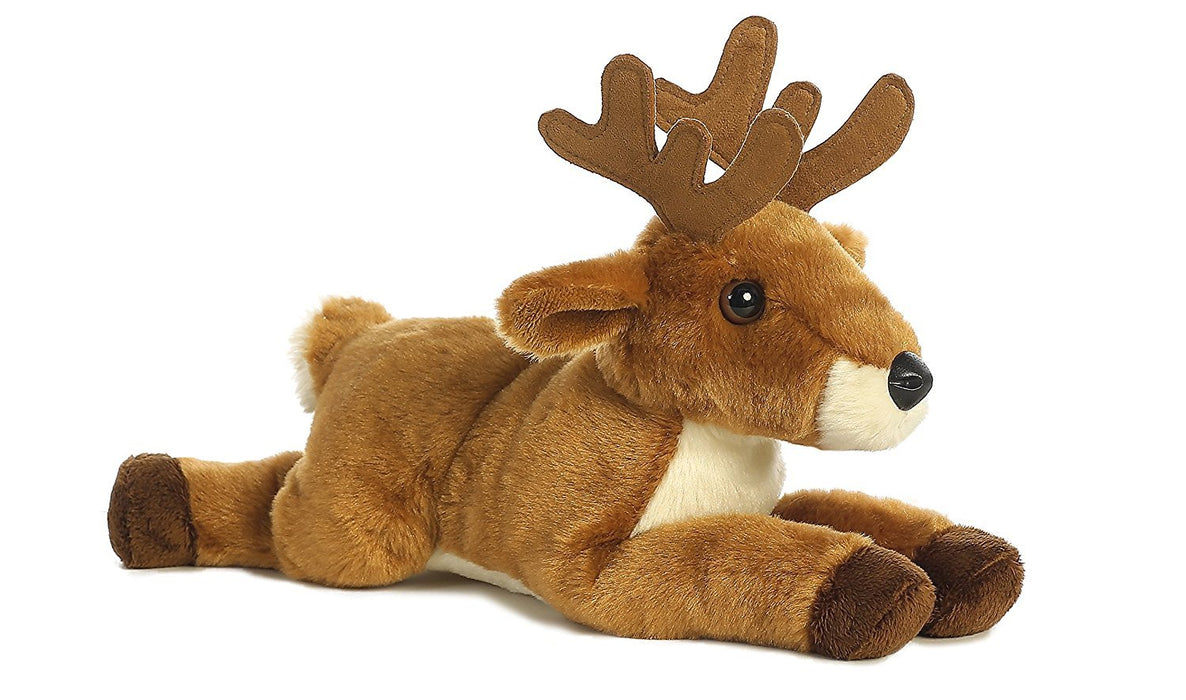 Aurora World Flopsie Animal Plush, White Tailed Buck