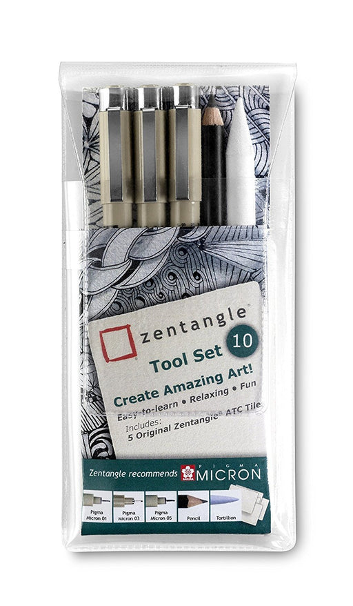 Zentangle Tool Set (Pack of 10)