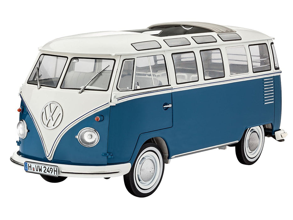 Revell 07009 - Model Kit - VW type 2 T1 samba bus, scale 1: 16