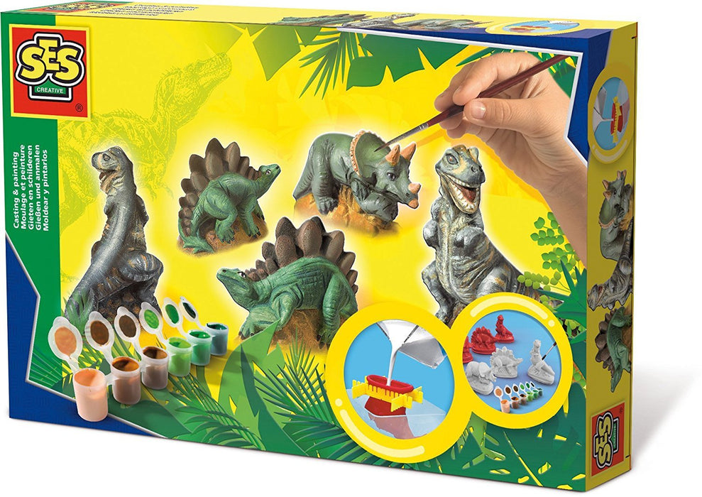 SES Dinosaurs Casting and Painting