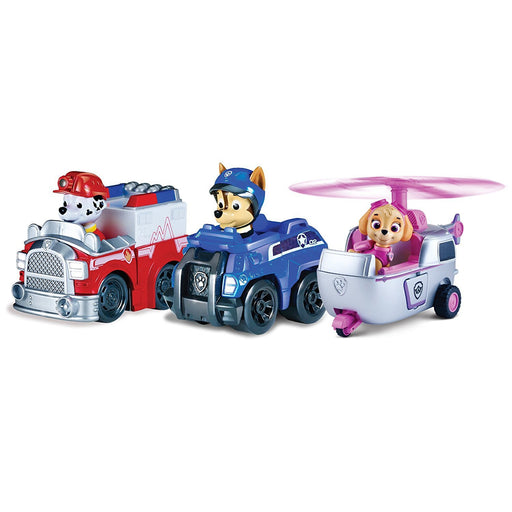 Paw Patrol 6024761 6.4 x 10.2 x 8.3 cm Action Pack with Pup (Pack of 3)