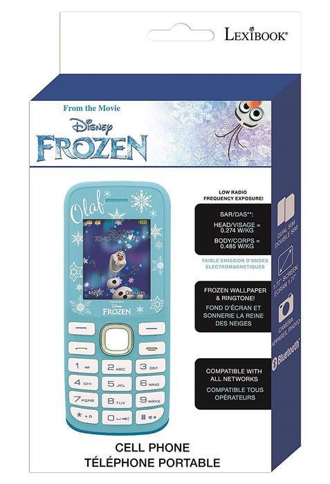 Lexibook GSM20FZ Disney Frozen No Contract Dual Sim Mobile Phone