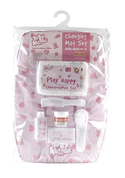 Casdon 712 Baby Huggles Dolls Changing Mat Set