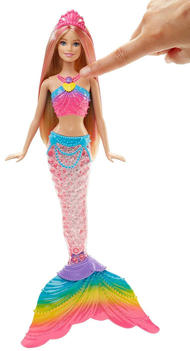 Barbie Rainbow Light-Up Barbie Mermaid Doll
