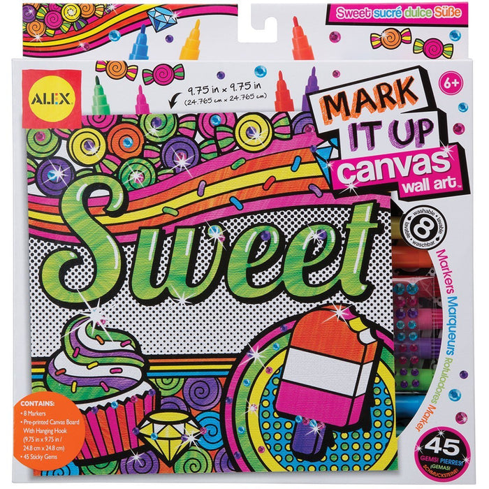 Alex Toys Art Mark it Up Canvas Wall Art Sweet