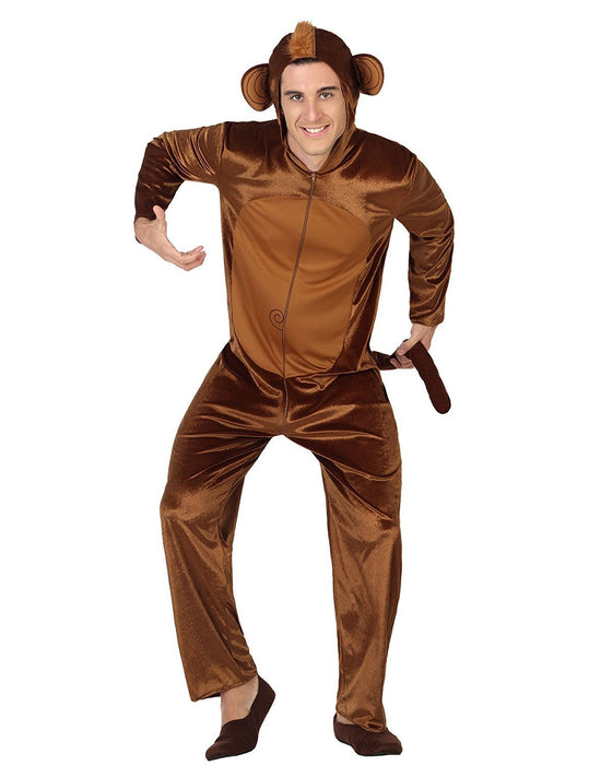 atosa 28426 - Monkey Mens Fancy Dress Costume