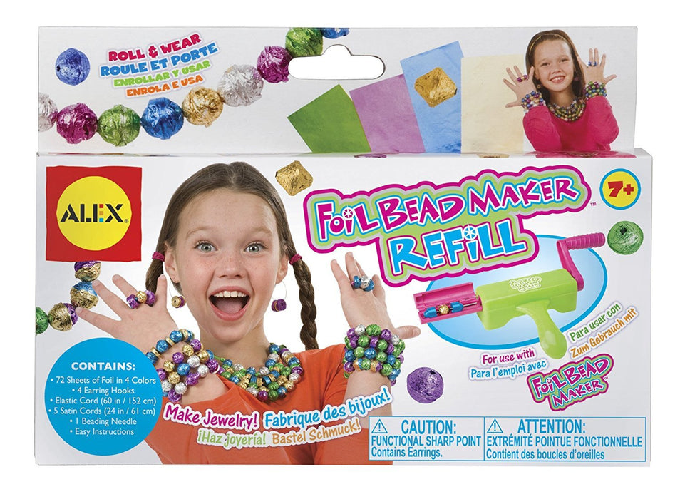 Alex Toys Do-it-Yourself Wear Foil Bead Maker Refill