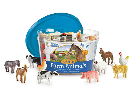 Learning Resources Farm Animal Counters