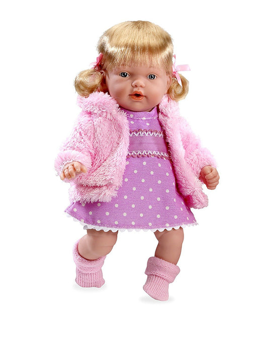 Arias 26 cm Elegance Hanne Doll with Laughter Magnetic Mechanism (Pink)
