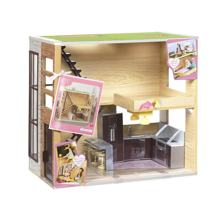 Lori LO37004Z Loft to Love House Toy