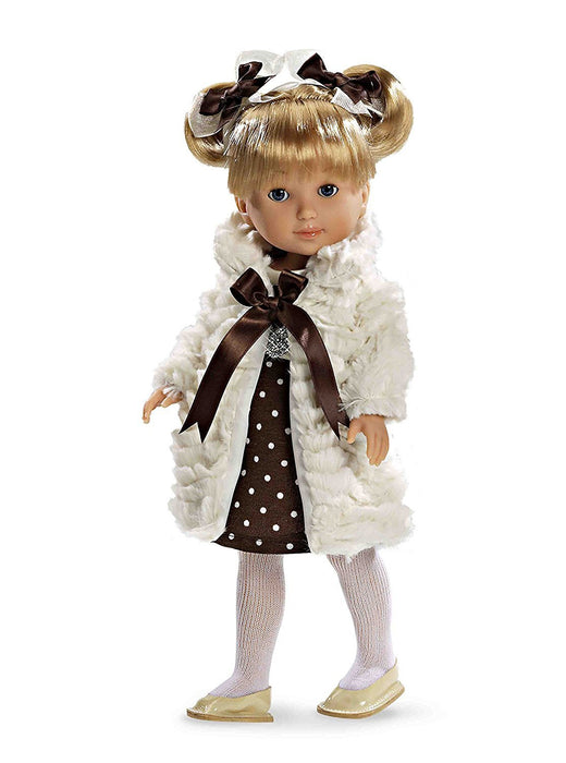 Arias 36 cm Elegance Carlota Swarovski Elements Doll Dress (White)