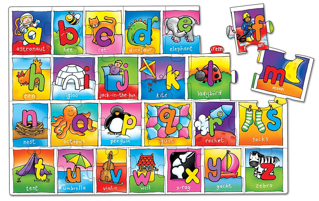 Orchard Toys Giant Alphabet Jigsaw Floor Puzzle 26 Pieces Top Toy