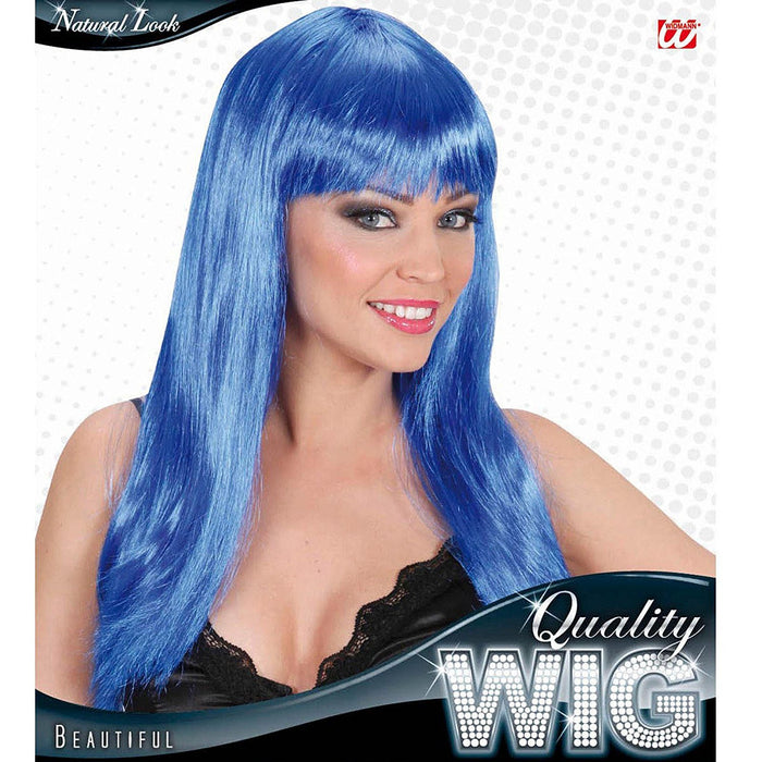 Beautiful - Blue Wig for Hair Accessory Fancy Dress
