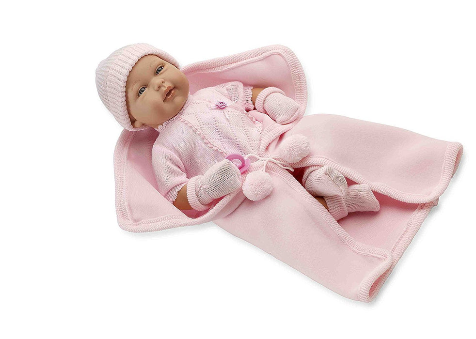 Arias Elegance Real Baby Doll with Crying Magnetic Mechanism (Pink)