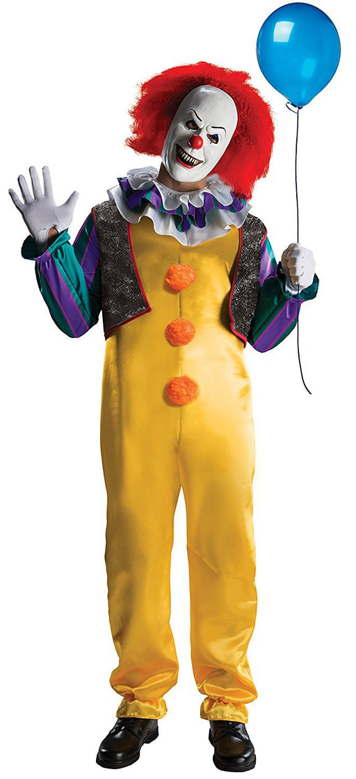 Rubie's Official Adult's Pennywise Deluxe Costume Clown - It The Movie - Standard