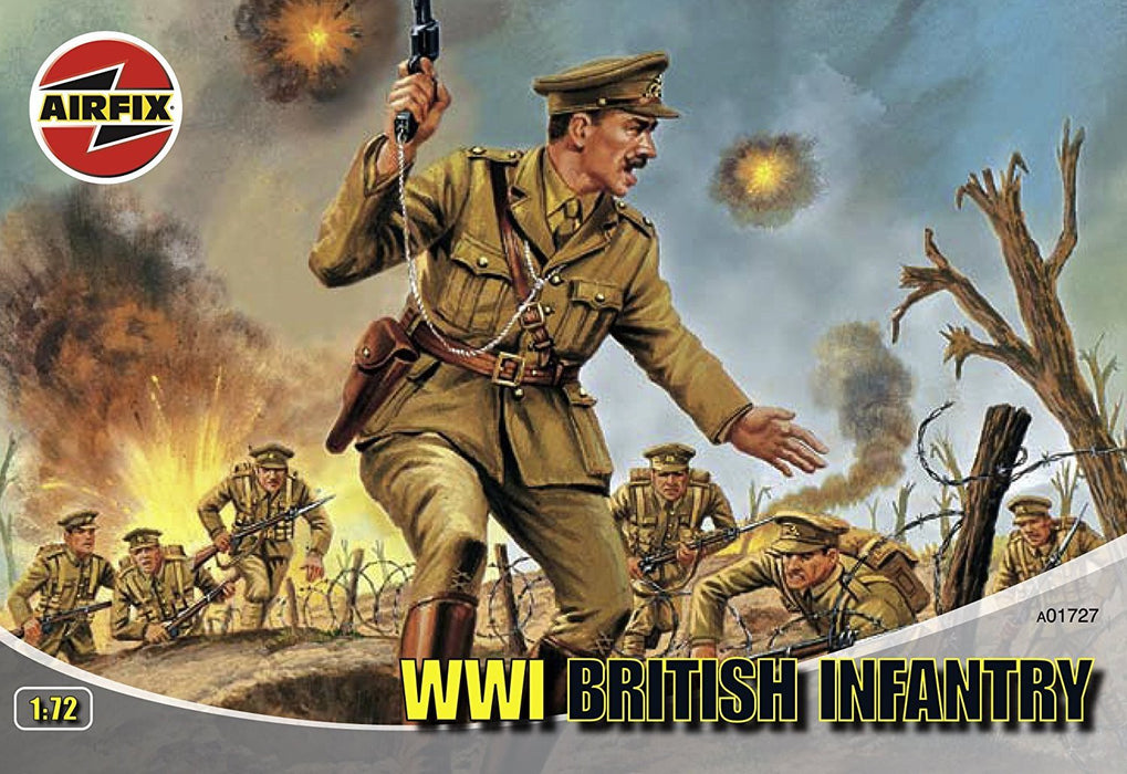 Airfix A01727 WWI British Infantry 1:72 Scale Series 1 Plastic Figures