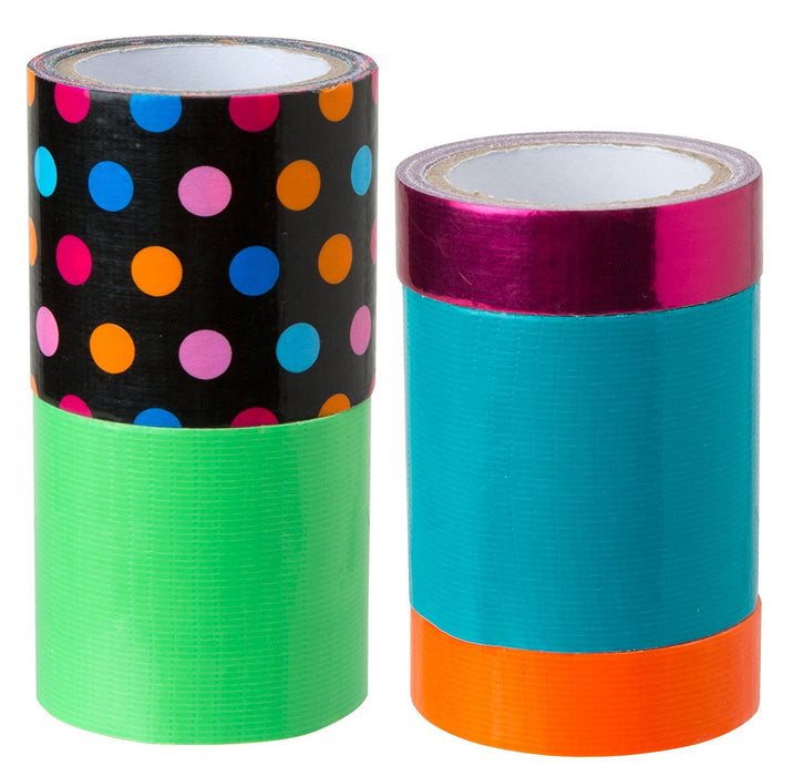 Alex Toys Girl's Duct Tape Tech Craft Kit with Stickers (Assortment)