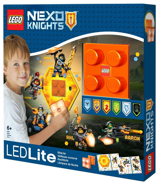 Lego Lights IQLGL-NI7 Nexo Knights Wall Light with Shield Power Code