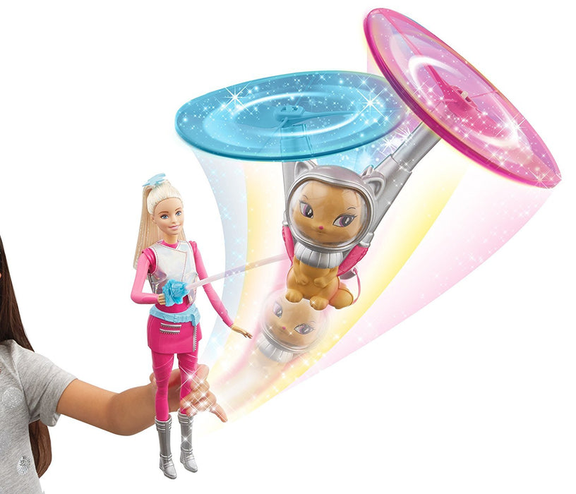 Barbie DLT22 Star Light Adventure Barbie and Hover Cat Doll