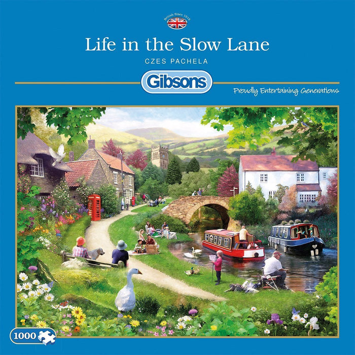 Gibsons Life in the Slow Lane Jigsaw Puzzle (1000 pieces)