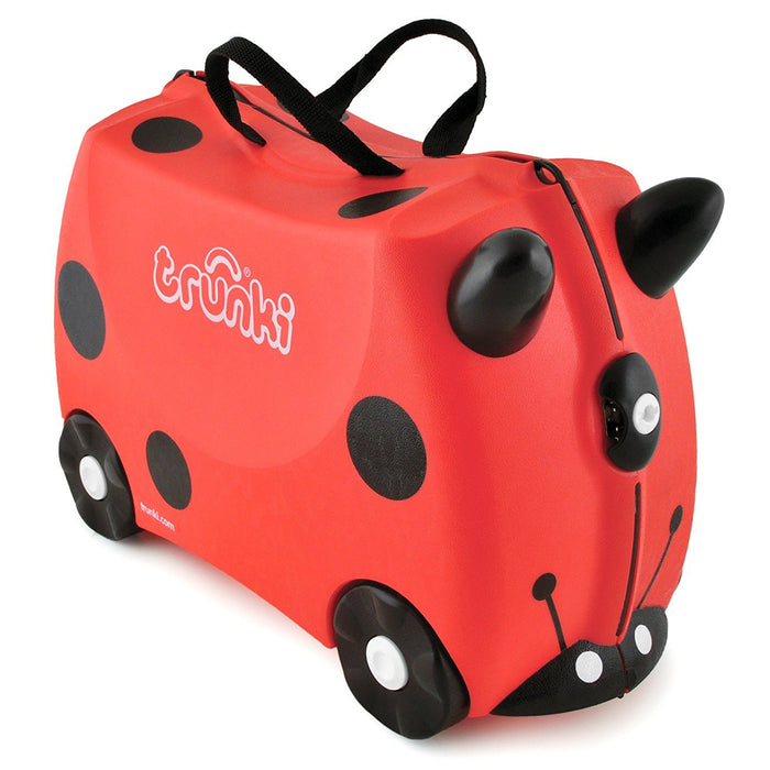 Trunki Ride-on Suitcase - Harley the Ladybug/Ladybird (Red)