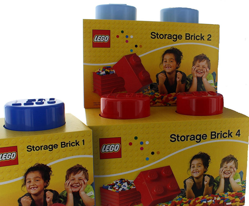 LEGO Storage Brick 2, Yellow