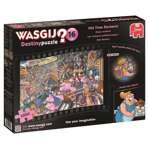 "Wasgij ""Destiny 16 Old Time Rockers"" Jigsaw Puzzle (1000-Piece, Multi-Colour)"