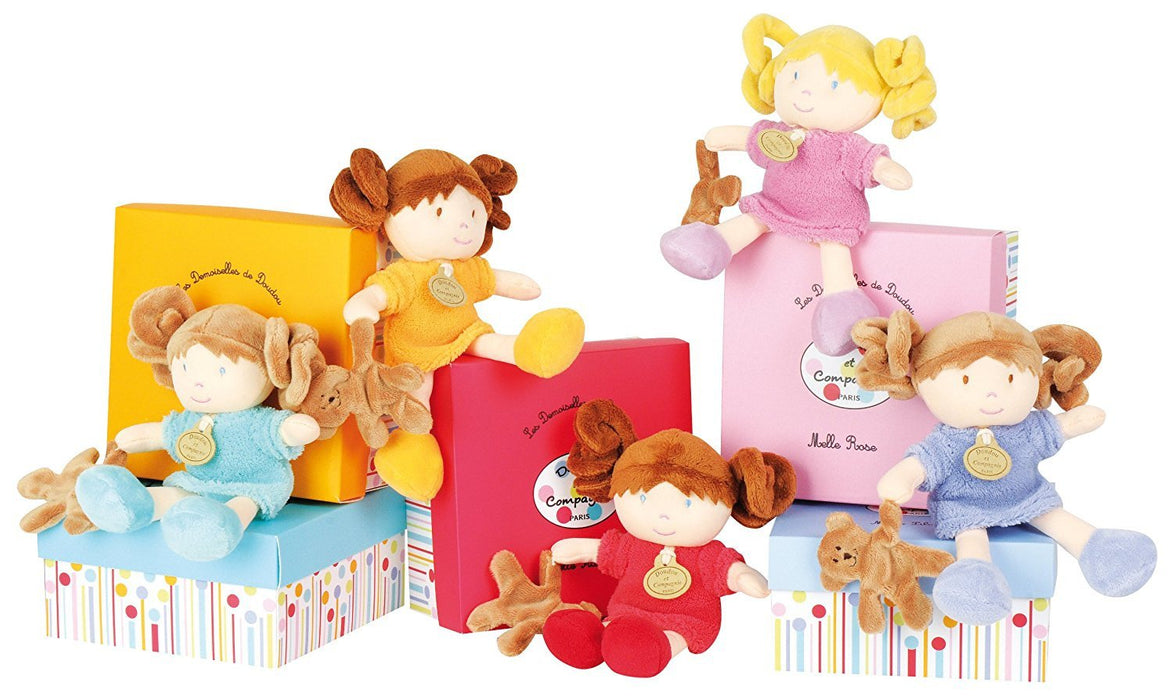 Doudou et Compagnie Miniature Dolls with Teddy Bears