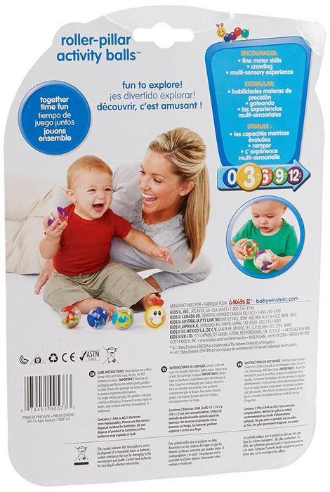 Baby Einstein Caterpillar Activity Balls