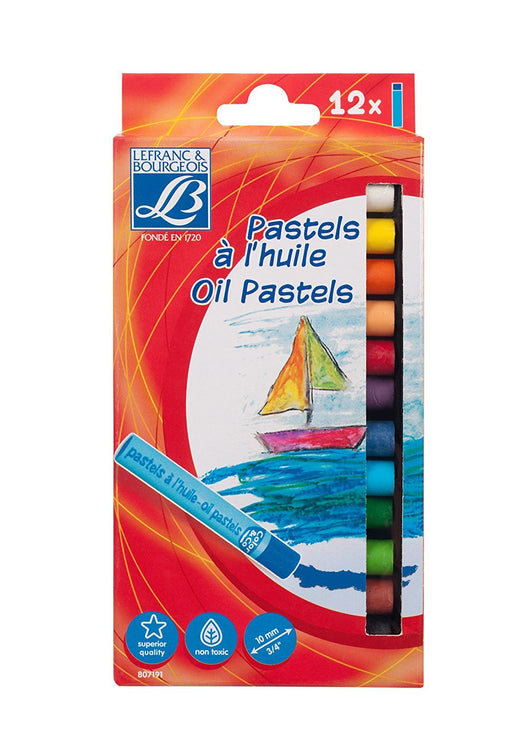Lefranc & Bourgeois Pastel Assortment 12 10 mm Oil