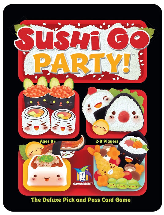 Gamewright Sushi Go Party - The Deluxe Pick and Pass Card Game