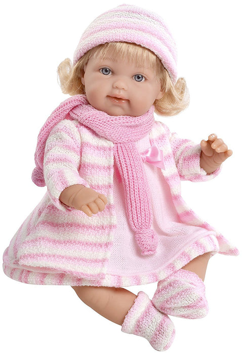 Arias 33 cm Elegance Lise Doll with Laughter Magnetic Mechanism in a Bag (Pink)