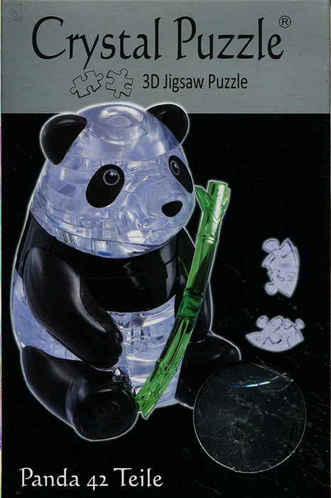 "HCM ""Panda"" Crystal Puzzle (42-Piece, Multi-Colour)"