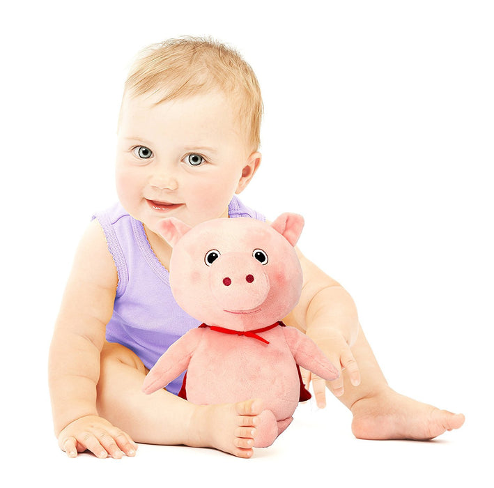 KD Toys LB8223 Little Baby Bum Pig Musical Plush Toy