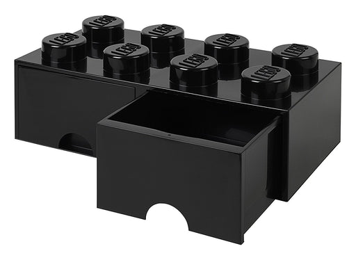 LEGO L4006BL.00 Black Storage Brick 8 with Drawers