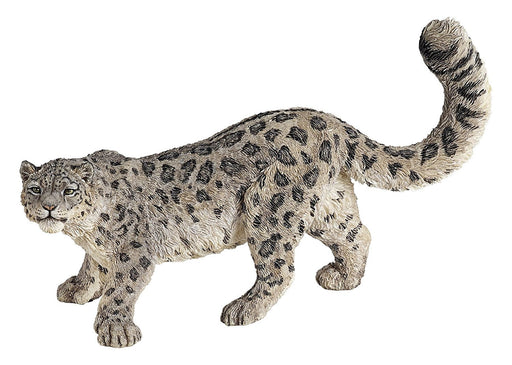 Snow Leopard 4 Inch Animal Figure - Wildlife Collection Toy