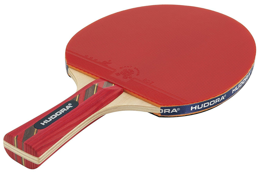 Hudora Kid's New Top Master Table Tennis Racket - Transparent, 140 g
