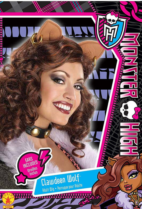 Rubie's Official Adult's Monster High Clawdeen Wolf Wig - One Size