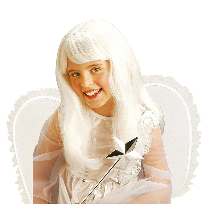 Angel White For Kids Wig for Hair Accessory Fancy Dress