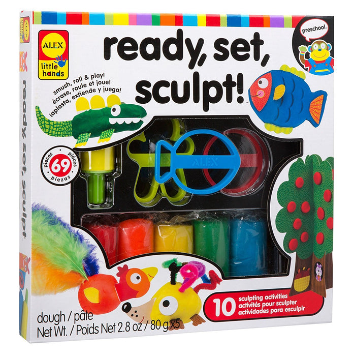 ALEX Toys Little Hands Ready Set Sculpt Craft Kit