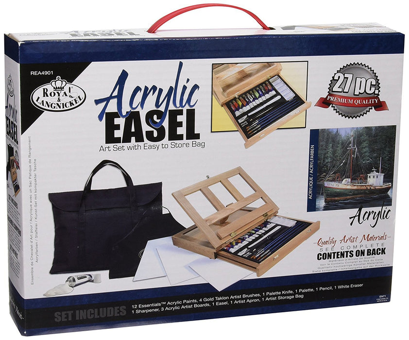 Royal and Langnickel Acrylic Painting Art Easel Set