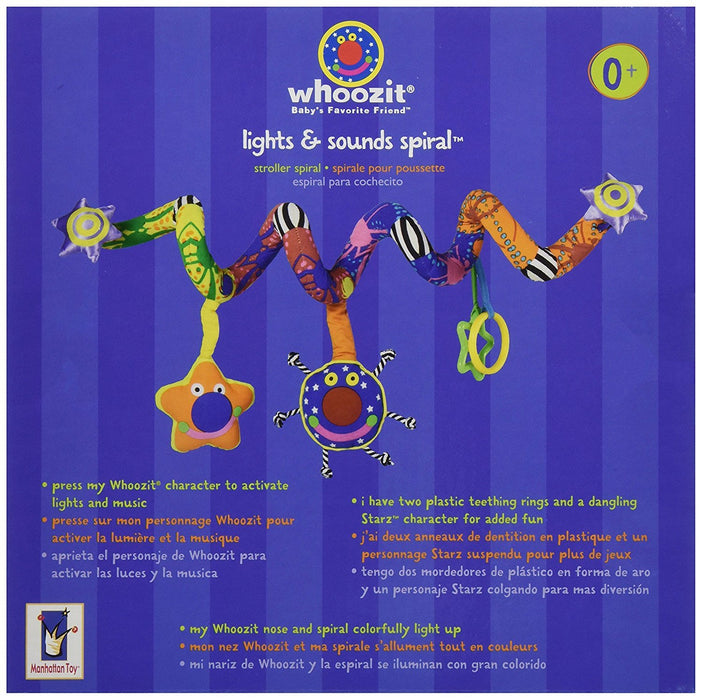 Manhattan Toy Whoozit Lights and Sounds Spiral