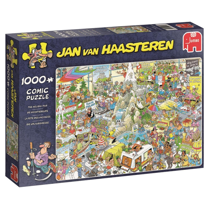 Jan van Haasteren 19051 The Holiday Fair Jigsaw Puzzle (1000-Piece)