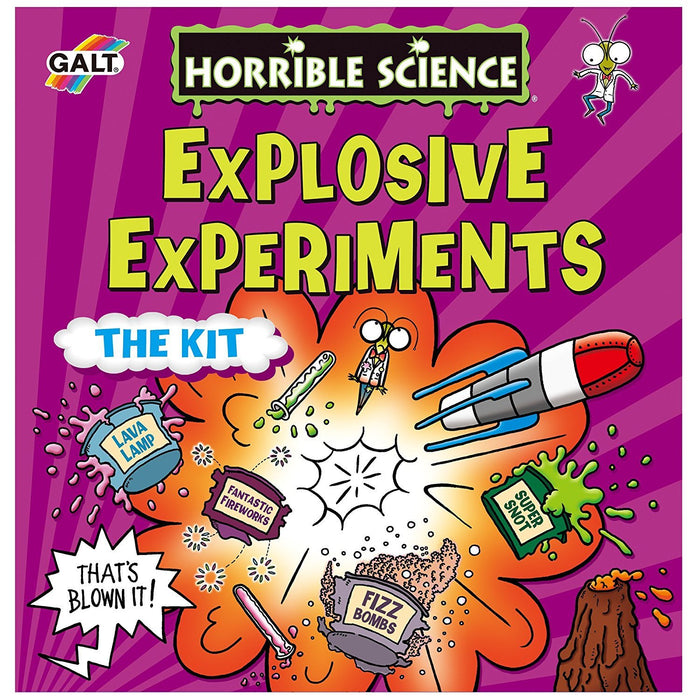 Galt Toys Horrible Science Explosive Experiments the Kit