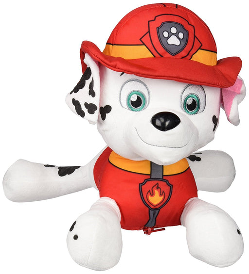Sambro PWP-8258-3 Paw Patrol Marshall Character Plush Backpack