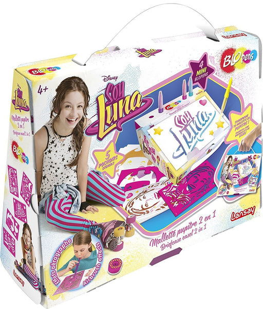 Lansay - 23551 - Blopens - 2 in 1 Stand Case Soy Luna