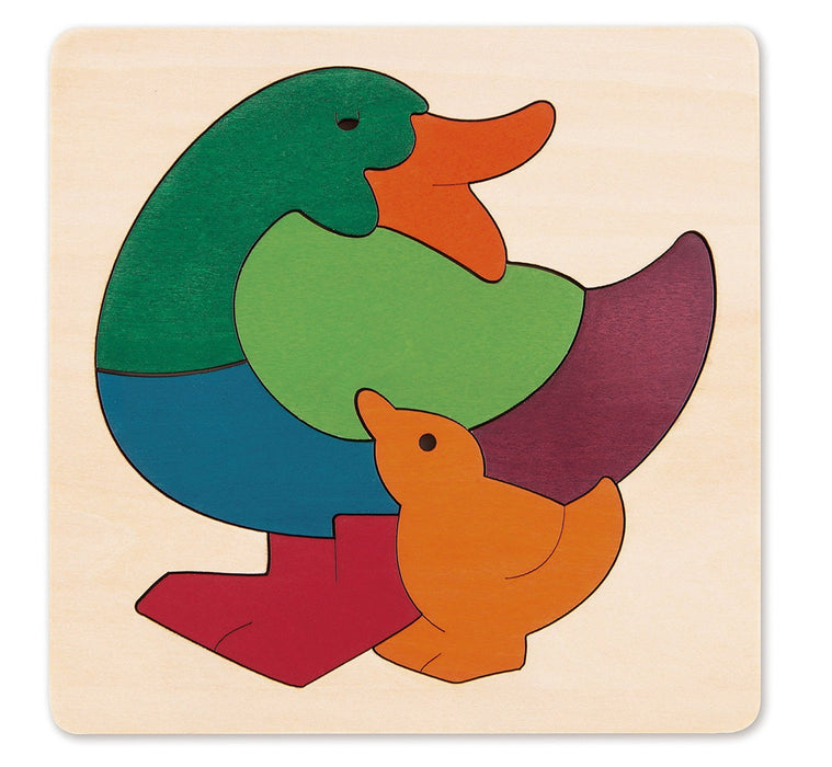 George Luck GLU-E6501 Rainbow Duck Wooden Puzzle