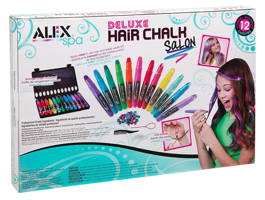 Alex Toys Various Deluxe Hair Chalk Salon Kit