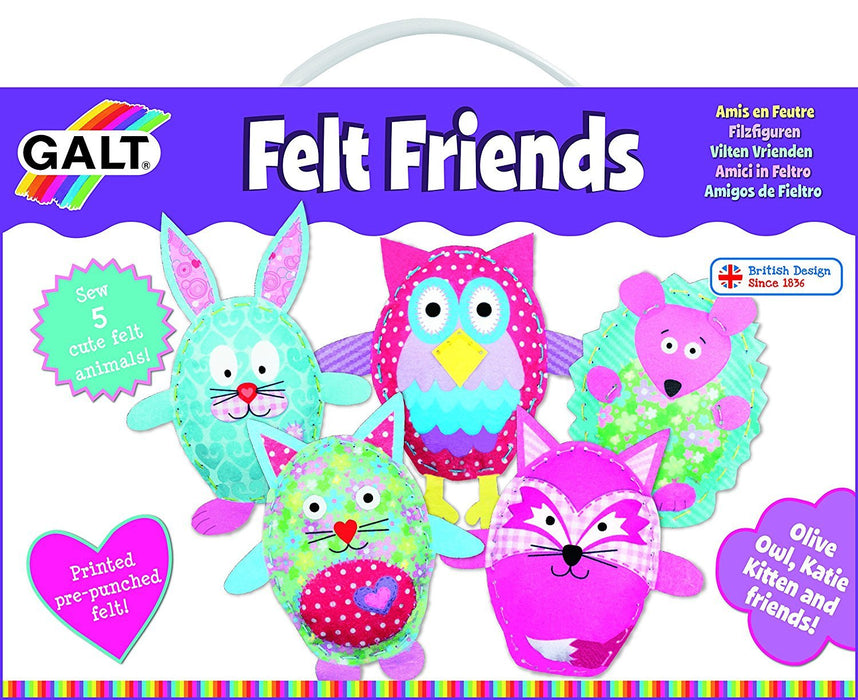 Galt Toys Felt Friends Sewing Kit