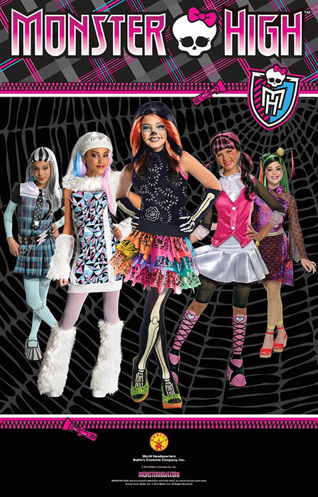 Monster High Abbey Bominable - i-52684 Wig - Child